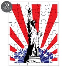 God Bless America Puzzle