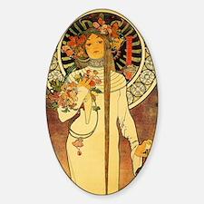 Vintage Art Nouveau Mucha Trappesti Decal