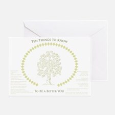 Ten Meaningful Things to Know Greeting Card