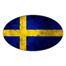Swedihs Flag Decal