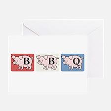 BBQ Fairy Tale Greeting Card