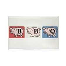 BBQ Fairy Tale Rectangle Magnet