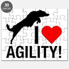 I love Agility Border Collie Puzzle