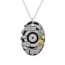 Teacher Classroom Management Necklace Oval Charm