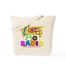 Cafe 80s Radio Tote Bag