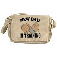 New Dad In Training Messenger Bag
