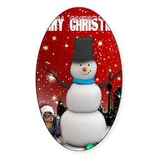 English Toy Spaniel Christmas Decal
