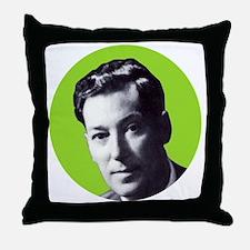 Neville Goddard Green Throw Pillow