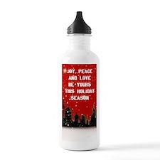 city scene  insdie chr Water Bottle