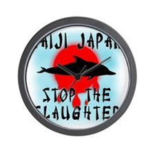Taiji Slaughter Wall Clock
