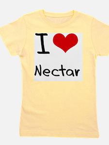 I Love Nectar Girl's Tee