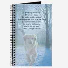 pet loss sympathy card Journal