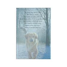 pet loss sympathy card Rectangle Magnet