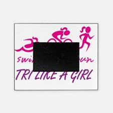 TRI LIKE A GIRL Picture Frame