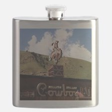 Million Dollar Cowboy Bar Flask