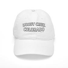 Woody Creek Colorado Baseball Cap