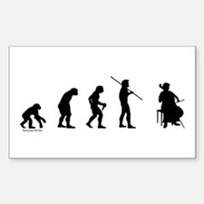 Cello Evolution Decal
