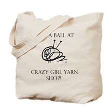Have A Ball Sweatshirt Hooded Tote Bag