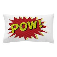 Cool retro comic book POW! design Pillow Case