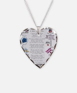 Police Officer Wife Necklace