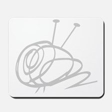 Yarn Ball Cropped washout Official Mousepad
