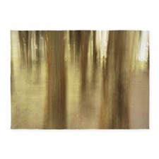 Nature abstract 5'x7'Area Rug