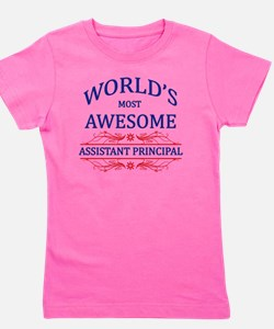assistant principal Girl's Tee