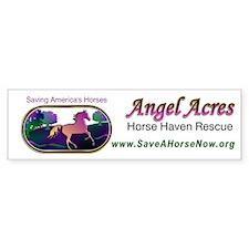 Angel Acres Horse Haven Rescue Bumper Bumper Sticker