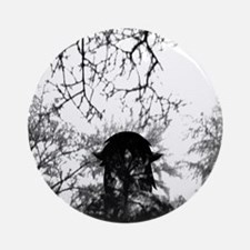 Forest of Antipathy - Wolf-girl in  Round Ornament