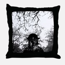 Forest of Antipathy - Wolf-girl in th Throw Pillow