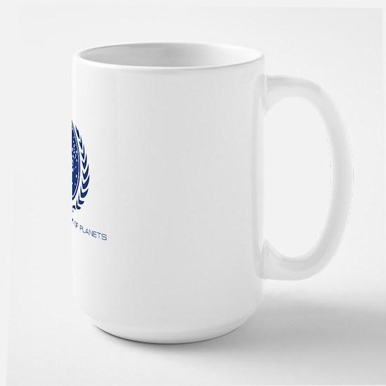 Star Trek; United Federation of Planets Large Mug