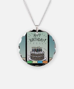 Appy Birthday! Necklace