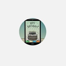 Appy Birthday! Mini Button