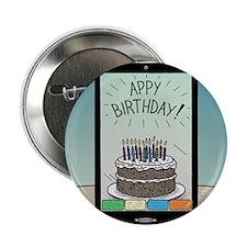 "Appy Birthday! 2.25"" Button"