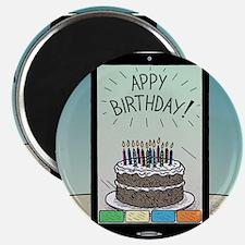 Appy Birthday! Magnet