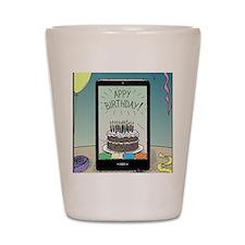 Appy Birthday! Shot Glass