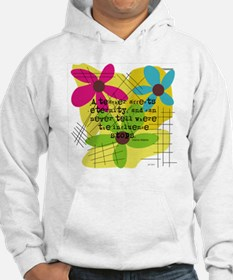 A teacher affects eternity PILLO Hoodie