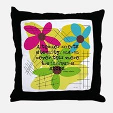 A teacher affects eternity PILLOW Throw Pillow