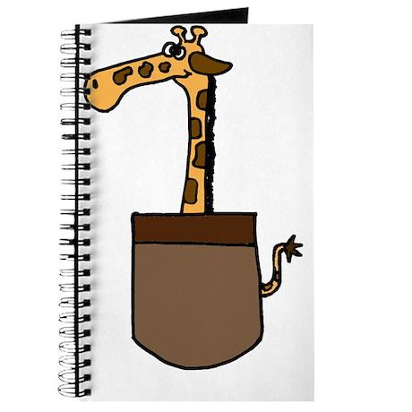 Giraffe in a Pocket Journal
