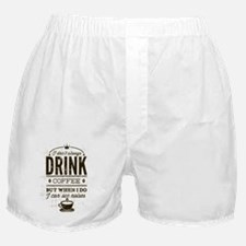 Coffee Noises Boxer Shorts