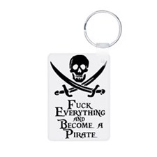 Become a pirate Keychains
