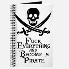 Become a pirate Journal
