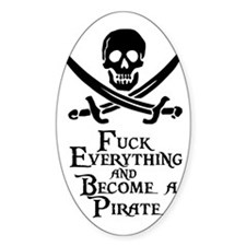 Become a pirate Decal