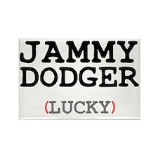 JAMMY DODGER (LUCKY) Rectangle Magnet