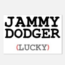 JAMMY DODGER (LUCKY) Postcards (Package of 8)