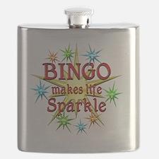 Bingo Brightens Flask