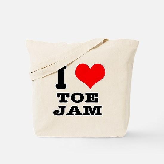 I Heart (Love) Toe Jam Tote Bag