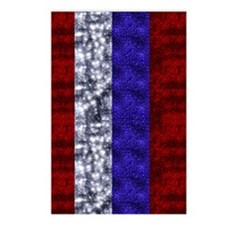 Red, White and Blue Fourt Postcards (Package of 8)