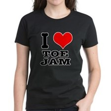 I Heart (Love) Toe Jam Tee