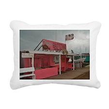pink bait Rectangular Canvas Pillow